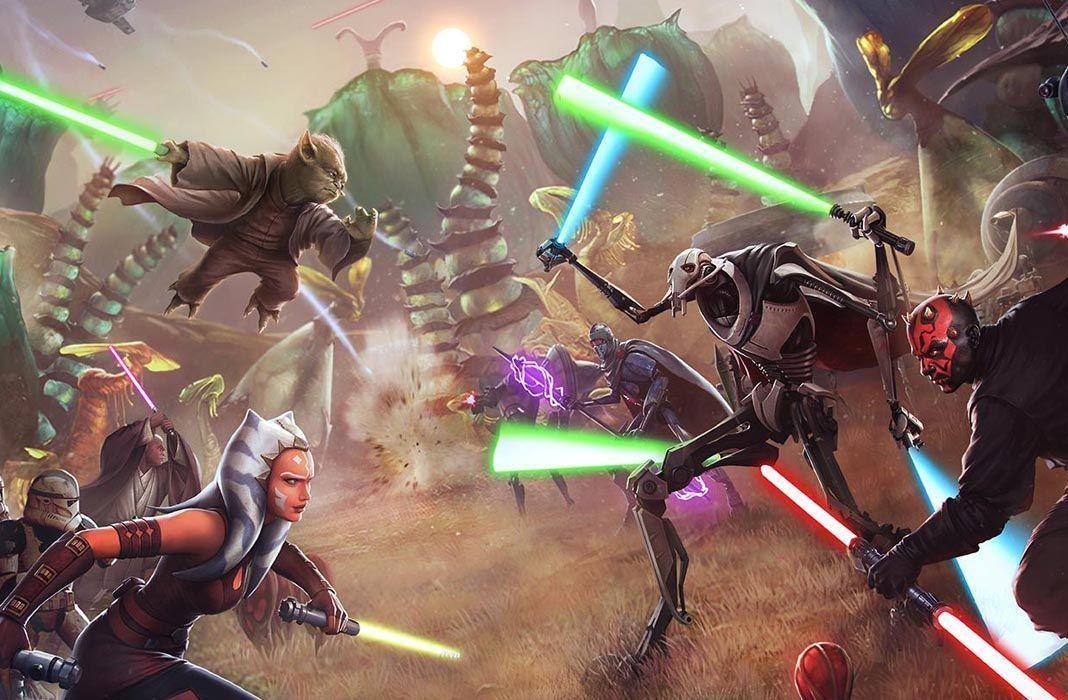Todos Los Juegos Free To Play De Star Wars Para Android