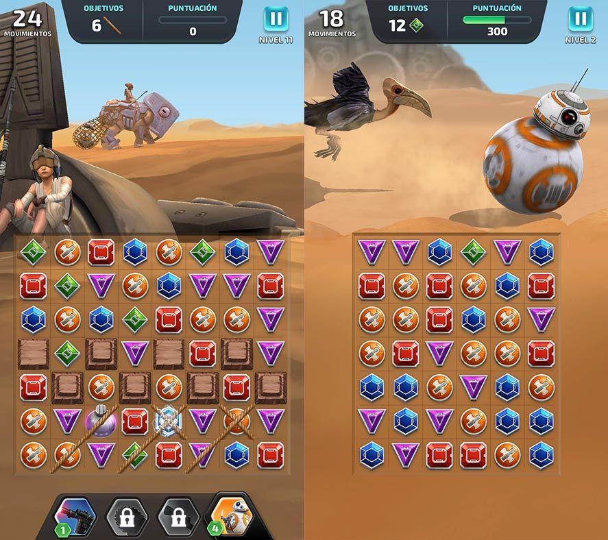 star wars puzzle droids 2 Disponible Star Wars: Puzzle Droids, un Candy Crush galáctico