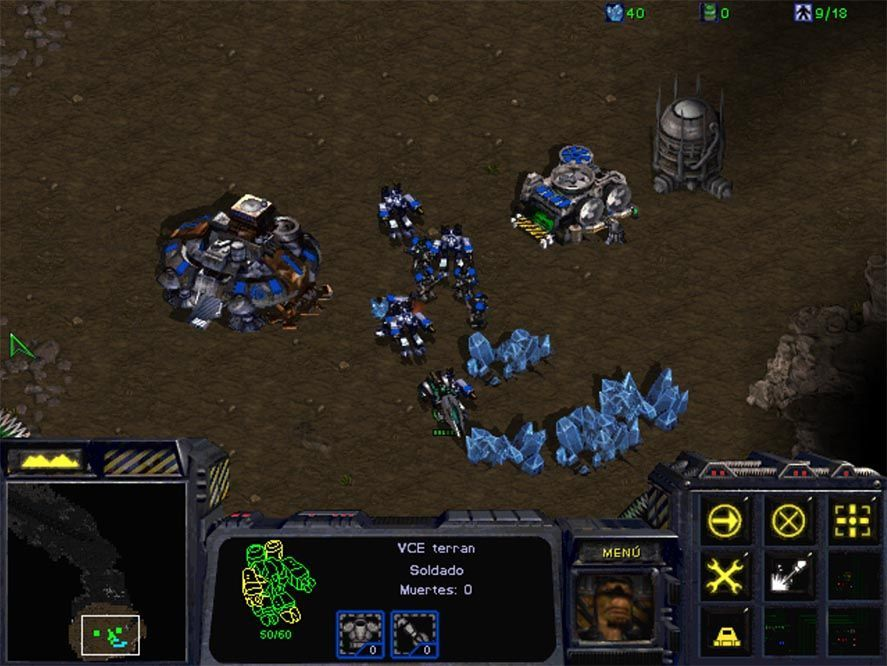 starcraft screenshot El clásico Starcraft ahora es gratuito