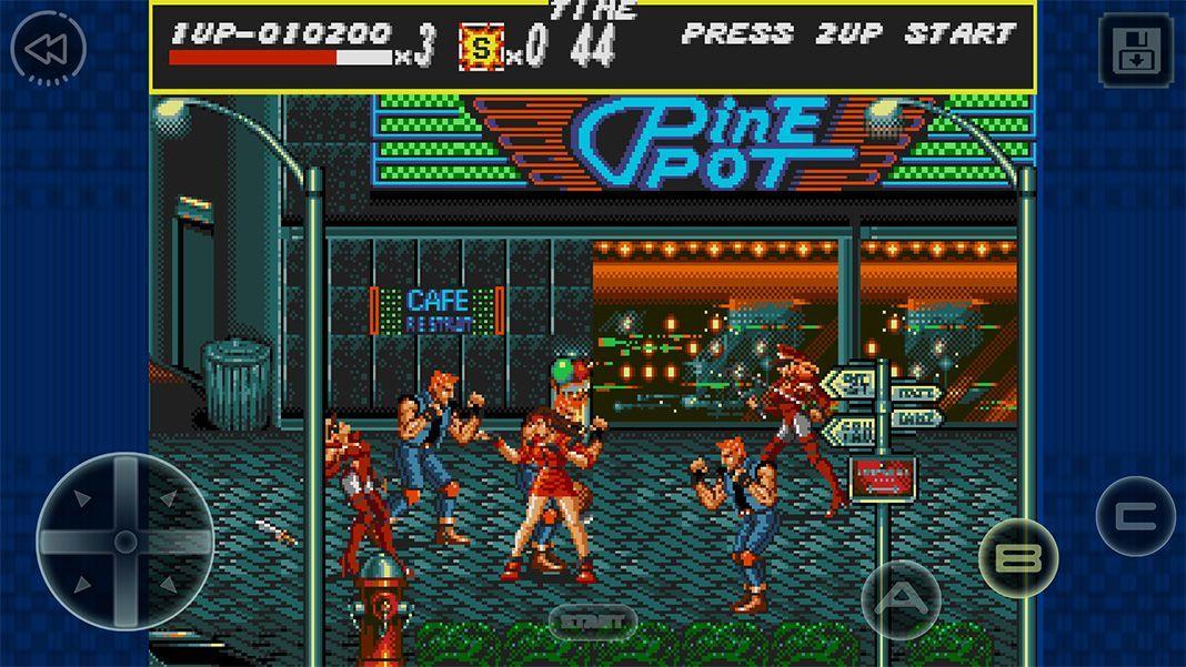 streets of rage screenshot 1 Ya puedes jugar a Streets of Rage en Android de forma gratuita