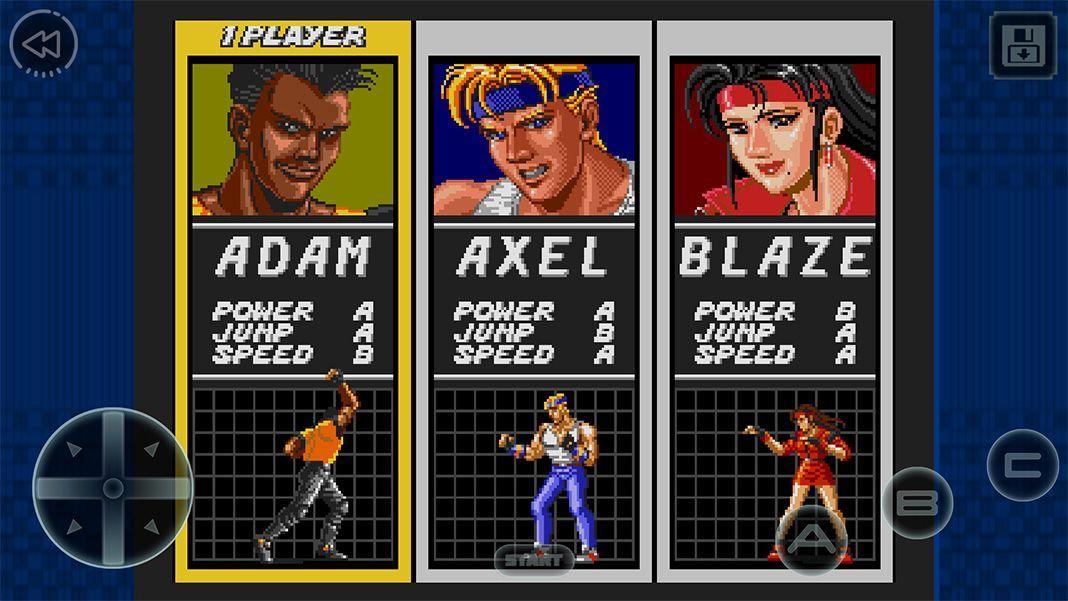 streets of rage screenshot 3 Ya puedes jugar a Streets of Rage en Android de forma gratuita