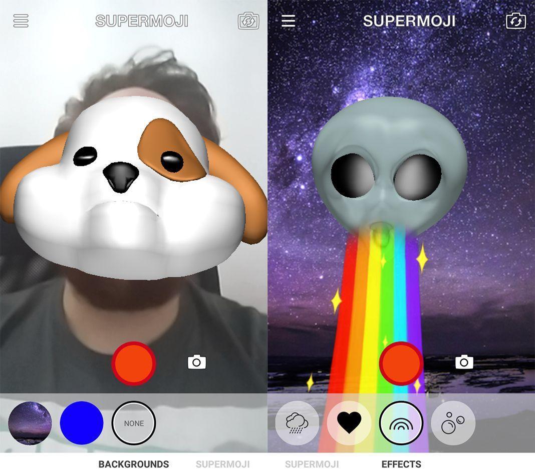 supermoji screenshot 2 Los Animoji de iPhone X llegan al ecosistema Android