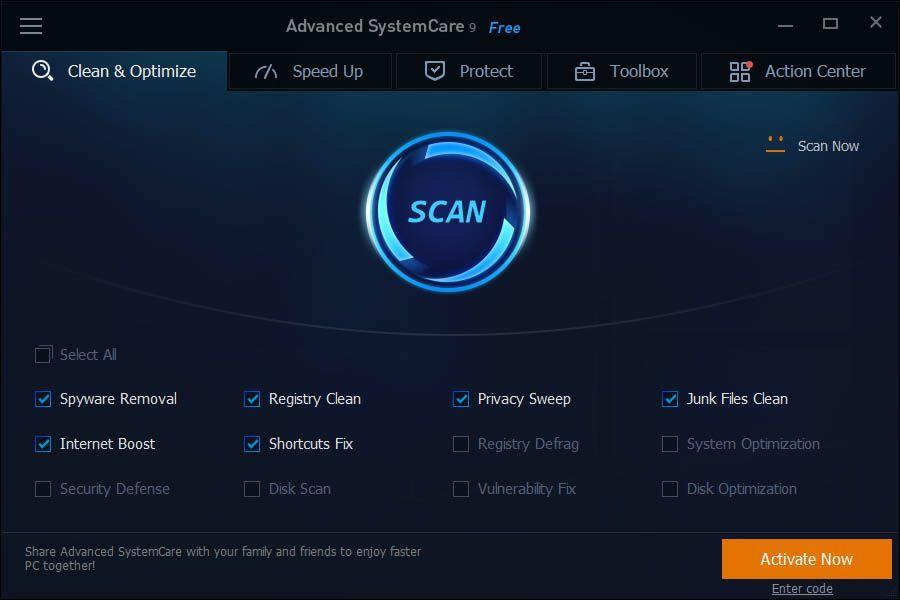 Nuevo Advanced Systemcare 10 Optimización Fácil En Windows
