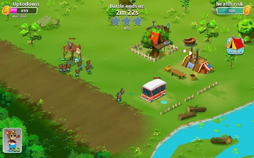 talking tom camp screenshot 4 Talking Tom Camp es un Clash of Clans con los personajes de Outfit7