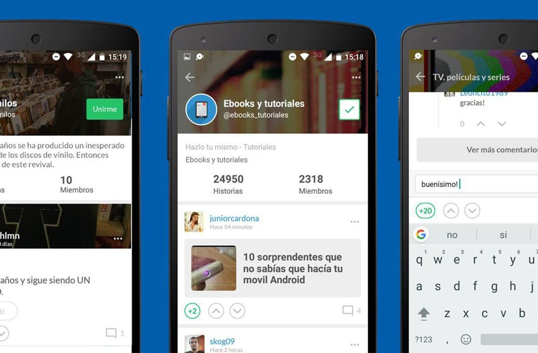 Taringa! app android