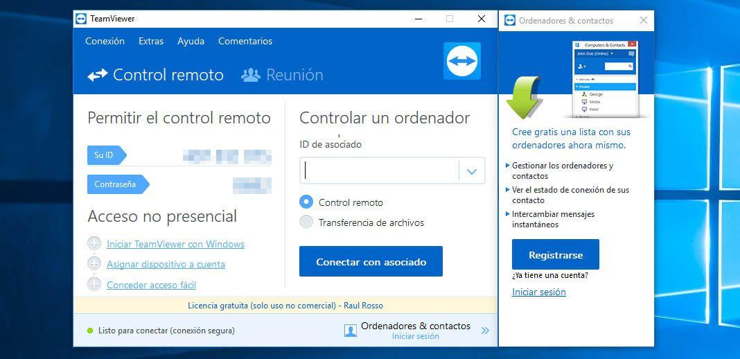 teamviewer pc android 4 Cómo controlar PCs de forma remota desde nuestro smartphone