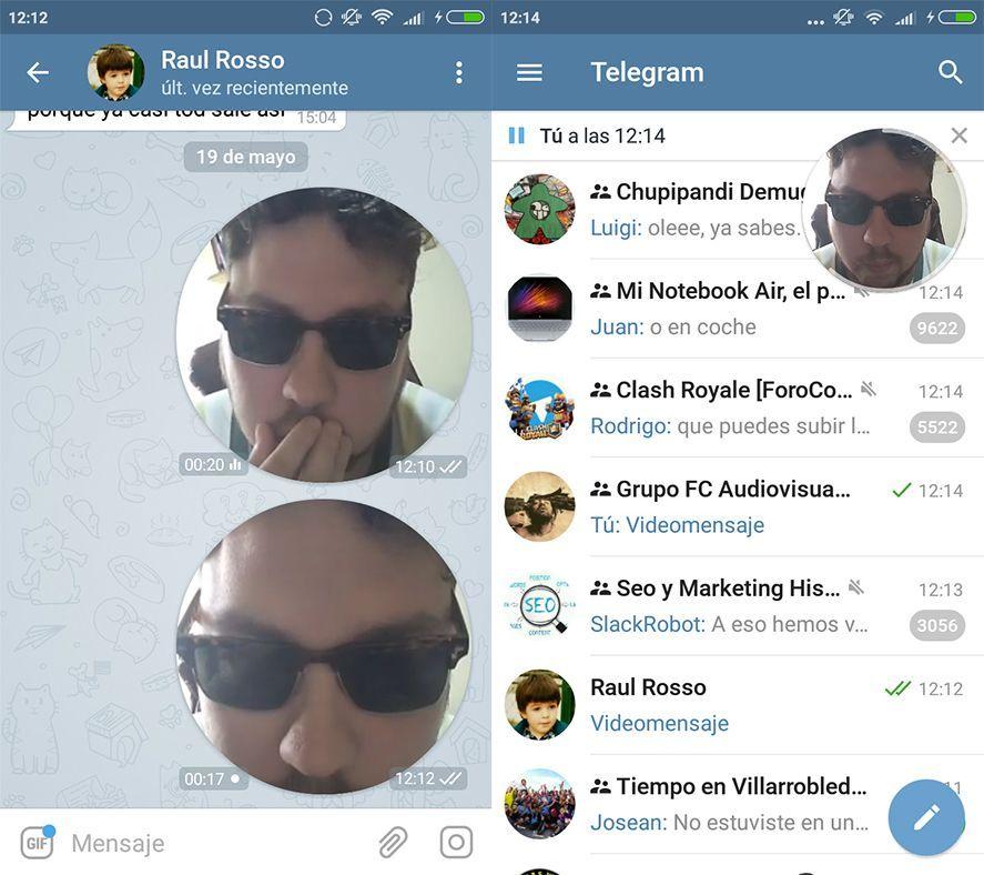 telegram 4 0 screenshot 1 Telegram alcanza su versión 4.0 con novedades: pagos y videomensajes