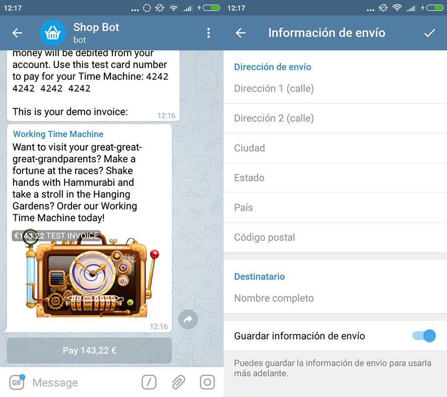 telegram 4 0 screenshot 2 Telegram alcanza su versión 4.0 con novedades: pagos y videomensajes