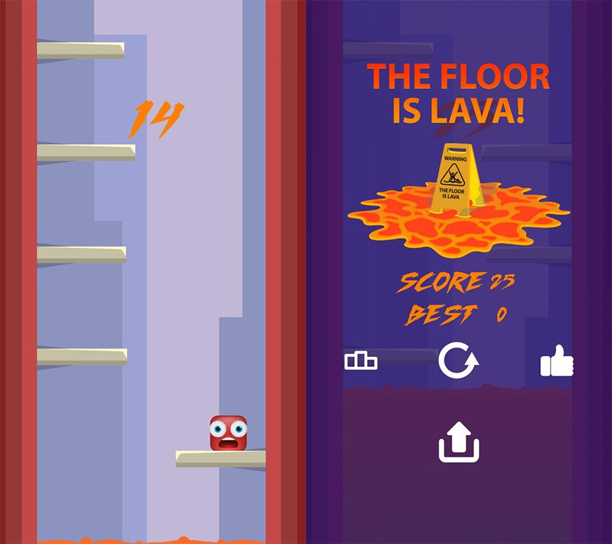 The Floor is Lava Android