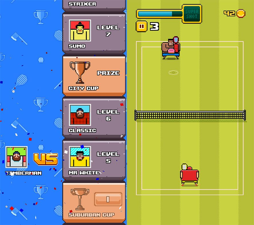 Timber Tennis Android