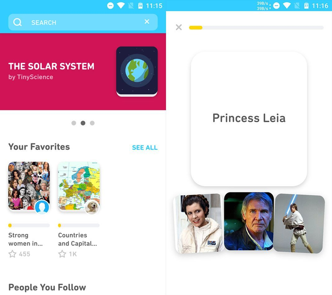 tinycards duolingo screens TinyCards: The new Duolingo app for learning as you play