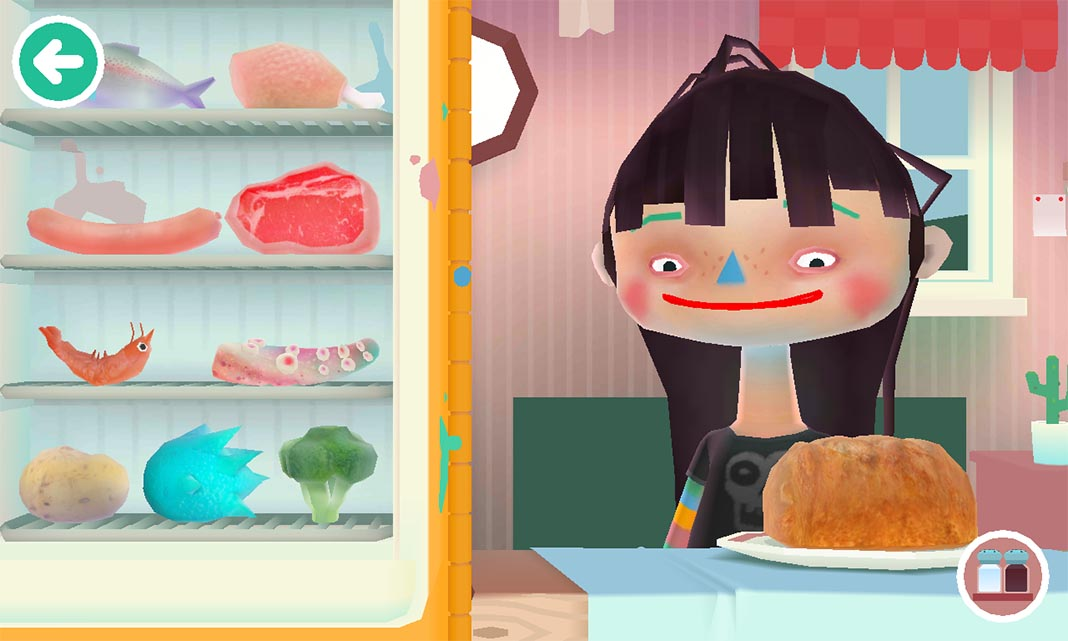 toca kitchen The best games for children on Android