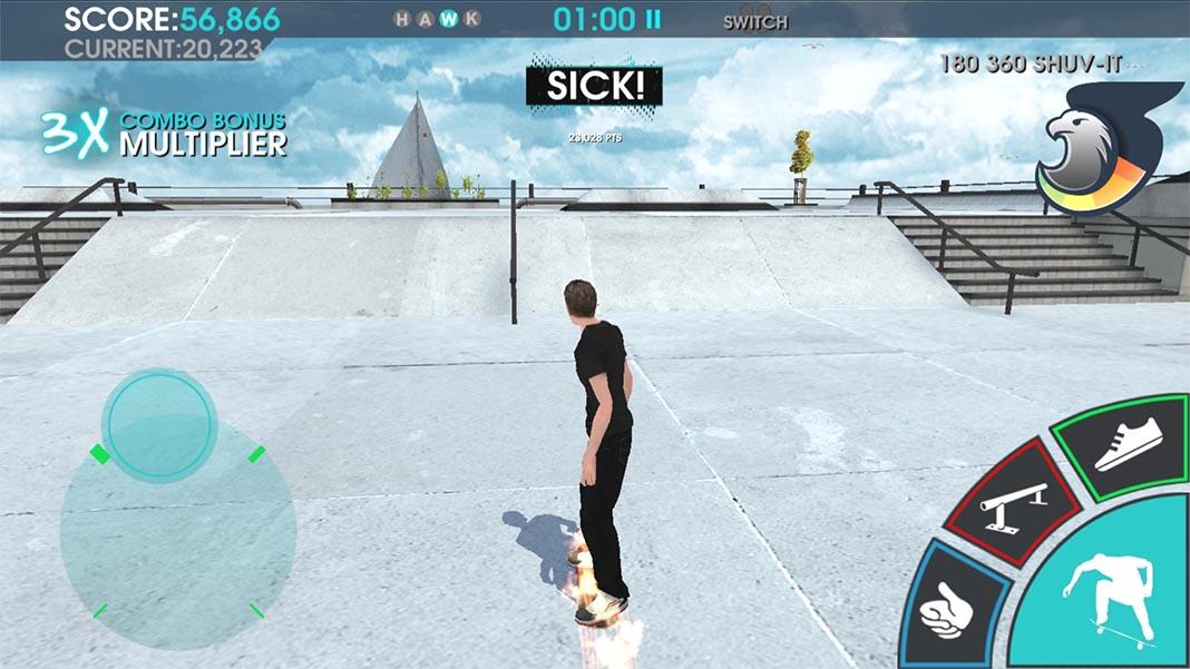 tony hawk skate jam 2 Los trucos de Tony Hawk llegan a dispositivos Android con Skate Jam