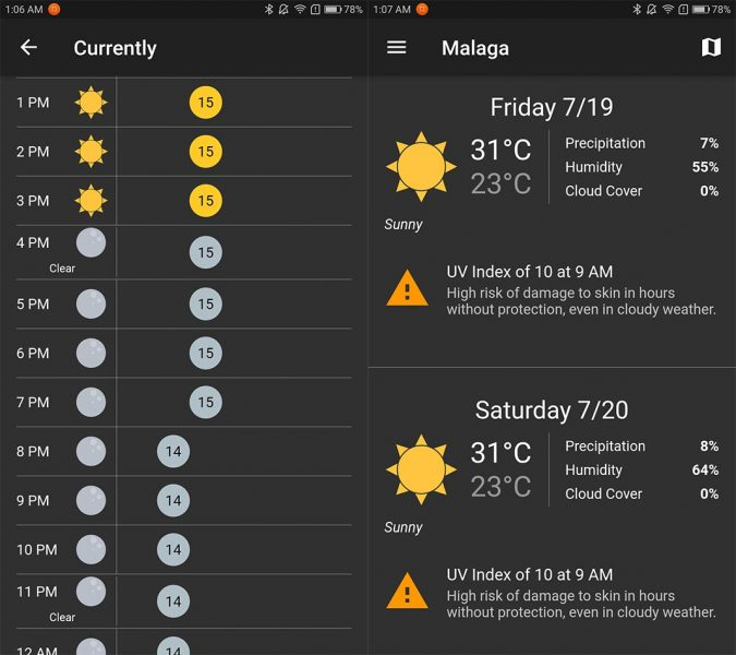 top android julio shadow weather Ten best Android apps for July 2019