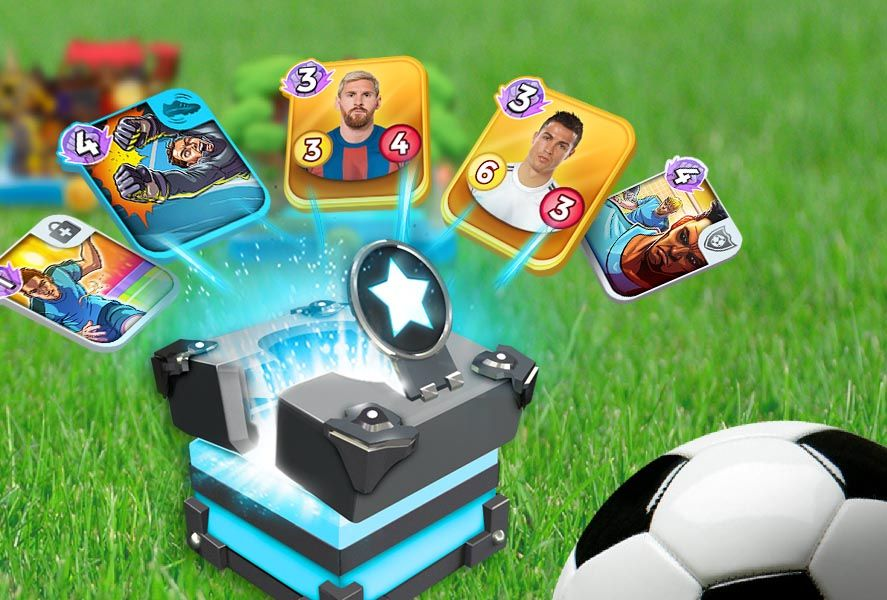 top stars football feat Top Stars Football marries card duels and Football