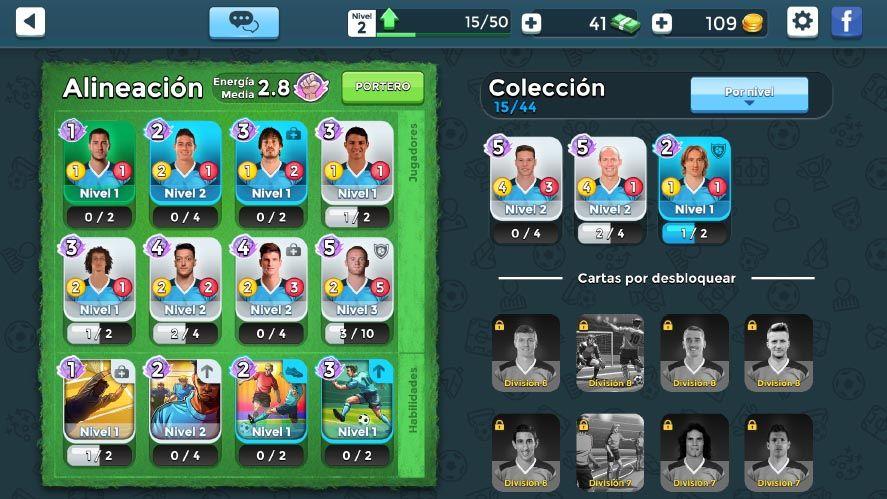 top stars football screenshot 2 Top Stars Football une los combates de cartas con el deporte rey