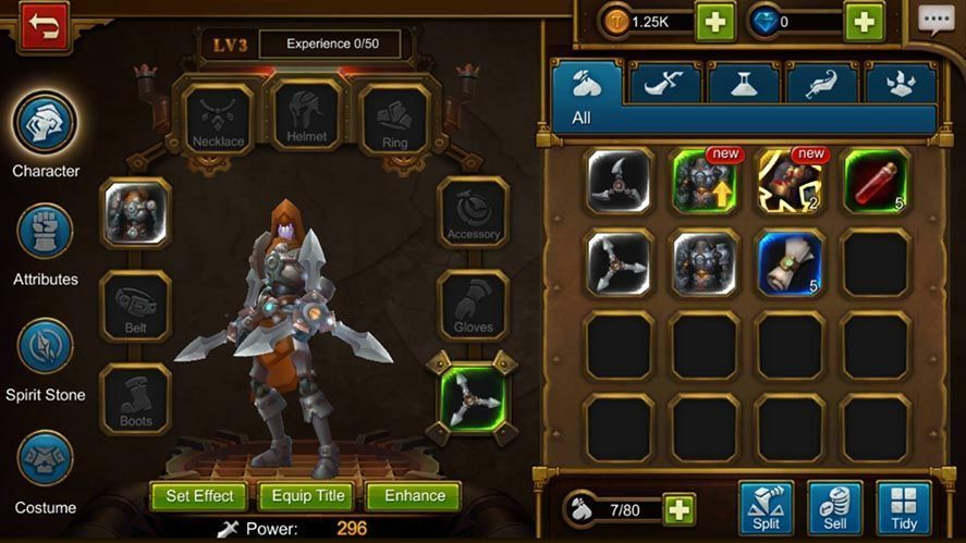 torchlight screenshot 2 Torchlight: The Legend Continues is now out on Android