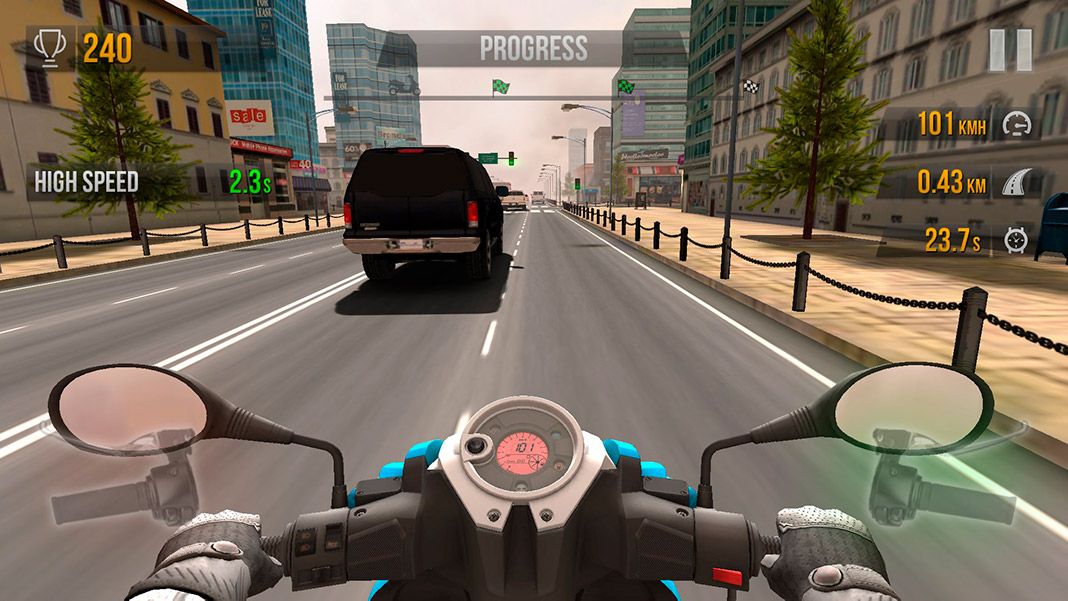 descargar traffic rider para android