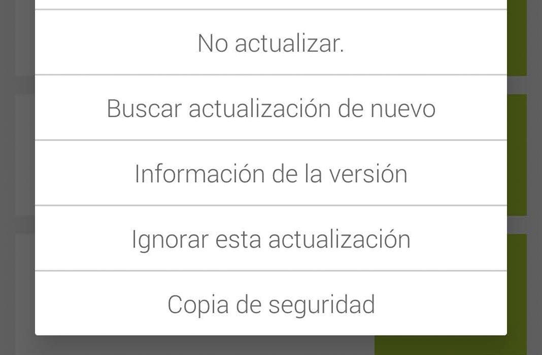Uptodown no actualizar apps