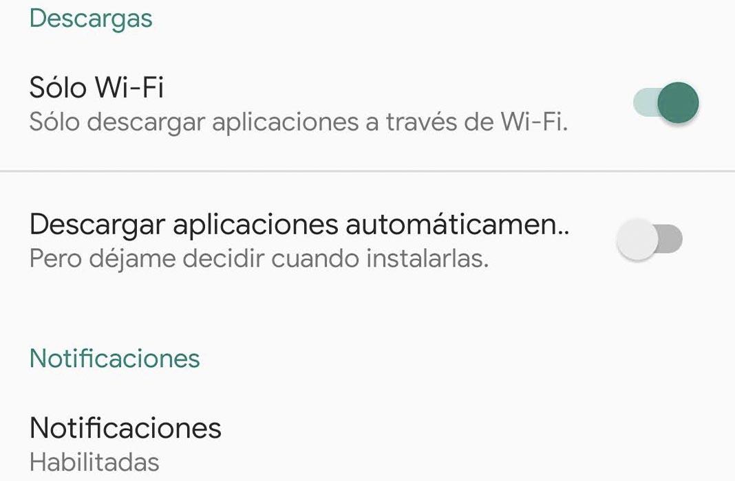 Uptodown App descargar apps automaticamente