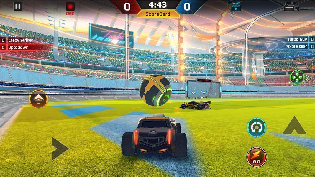 turbo league rocket Diez clones de videojuegos exitosos adaptados a dispositivos Android