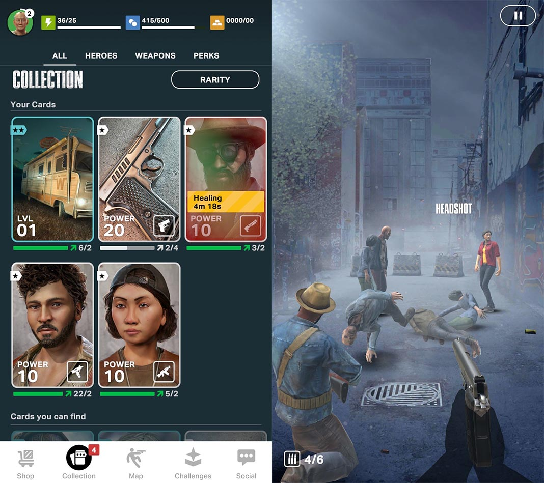 twd our world screenshot 2 The augmented reality game, The Walking Dead: Our World is now available