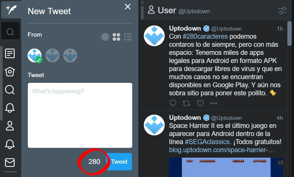tweetdeck 280 caracteres How to activate the 280-character limit on any Twitter account