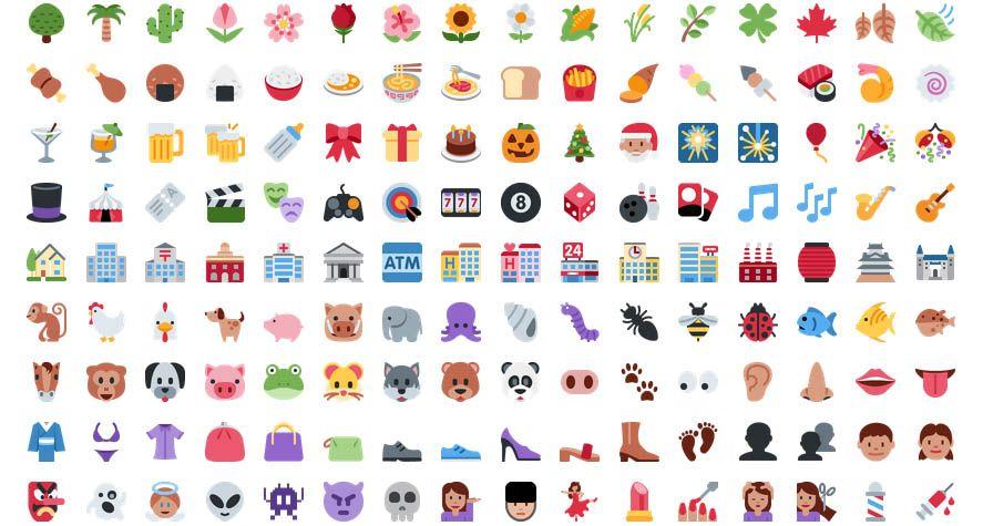 Twitter publica un práctico lote de 872 emojis Open Source