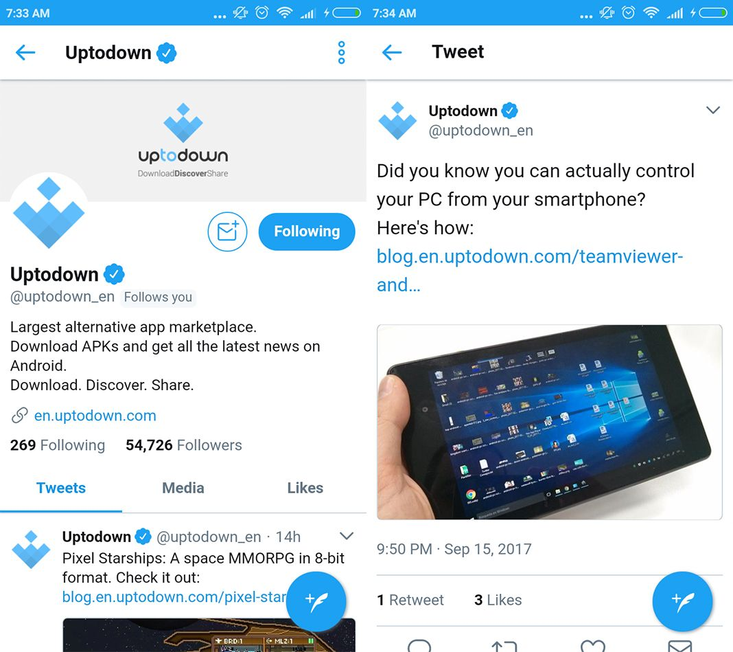 twitter lite screenshot 1 en Twitter officially releases its Lite version for Android