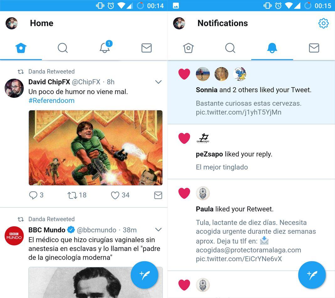 twitter lite screenshots Las mejores apps Lite para ahorrar espacio en tu dispositivo Android