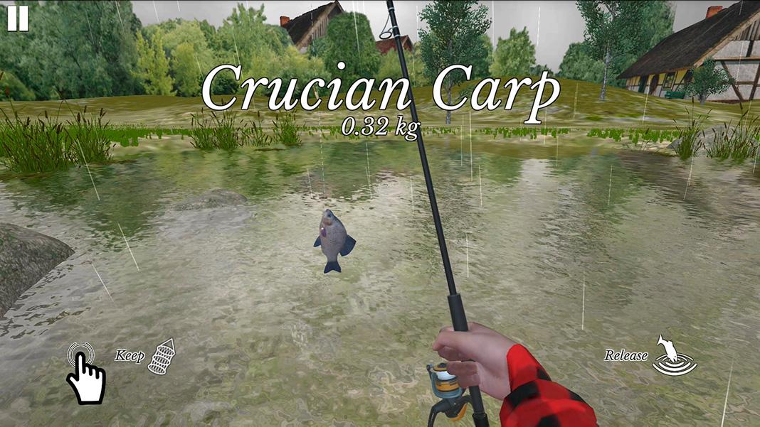 ultimate fishing screenshot Los mejores juegos de pesca para Android