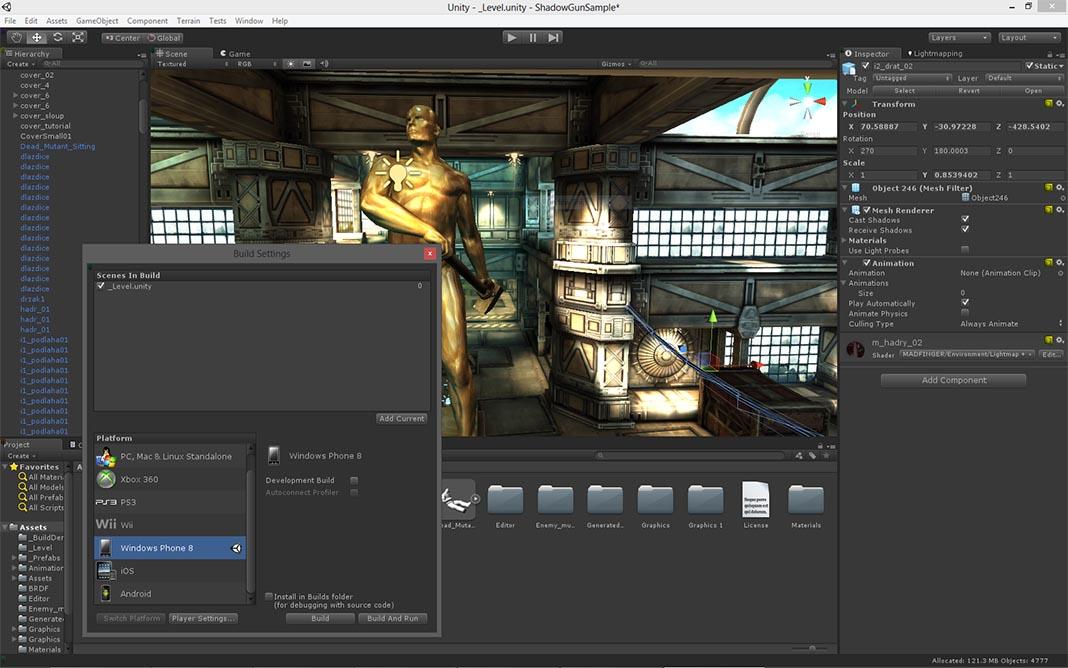 unity3D Herramientas para crear videojuegos en Android