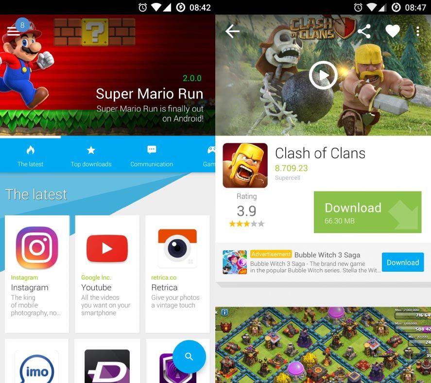 uptodown app nativa screenshots Presentamos la nueva app nativa de nuestra app store para Android