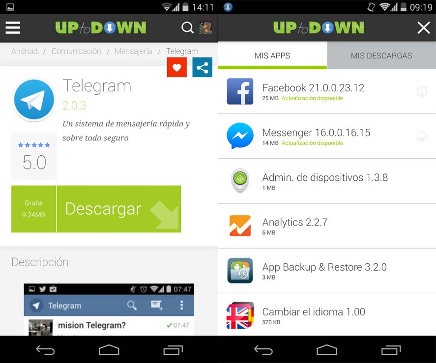 Hola uptodown android