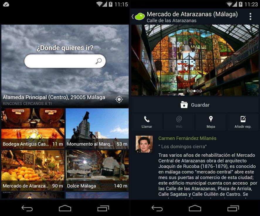 Minube Android screenshot