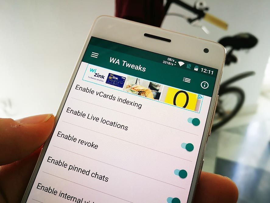 How to enable hidden features on WhatsApp for Android