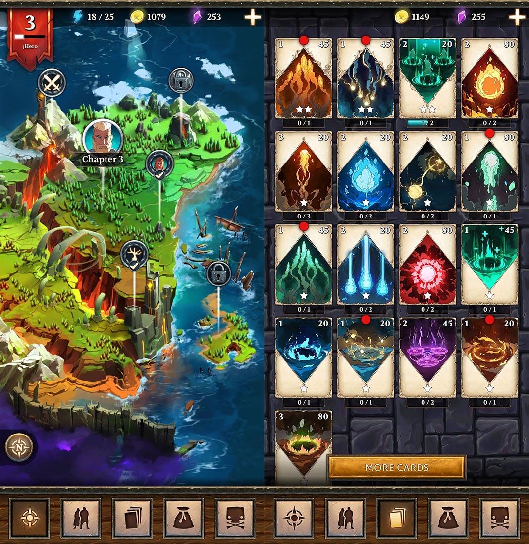 war of magic screenshot 2 War of Magic: estrategia y cartas coleccionables con un gran acabado artístico