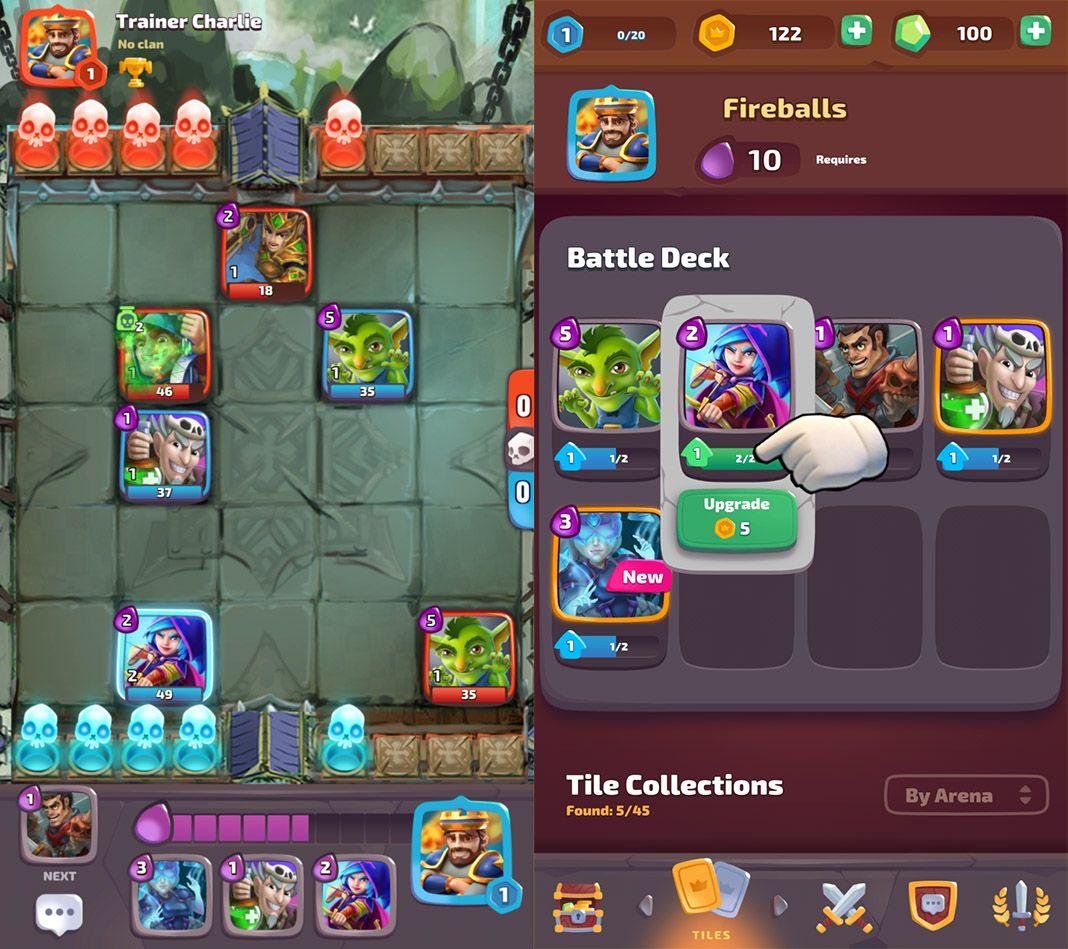 war tiler screenshot 1 War Tiler: Imagina un juego de mesa de Clash Royale