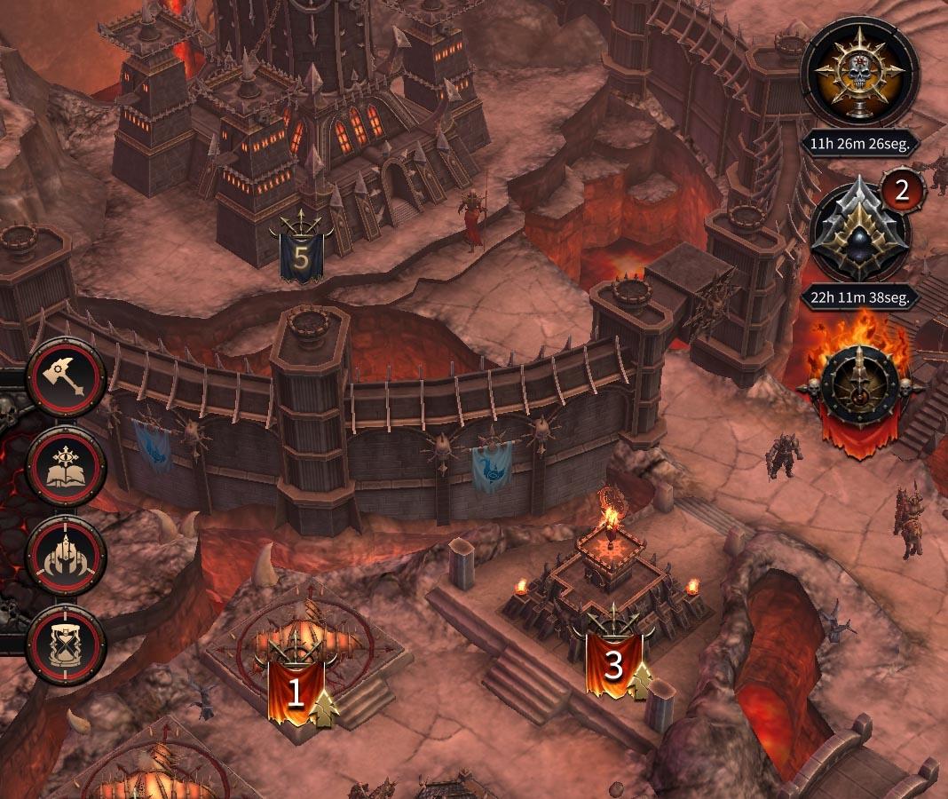 warhammer chaos conquest screenshot1 Los mejores juegos en soft-launch que ya puedes jugar en Android