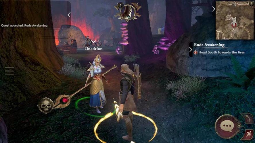 Warhammer Online screenshot mejores MMORPG Android