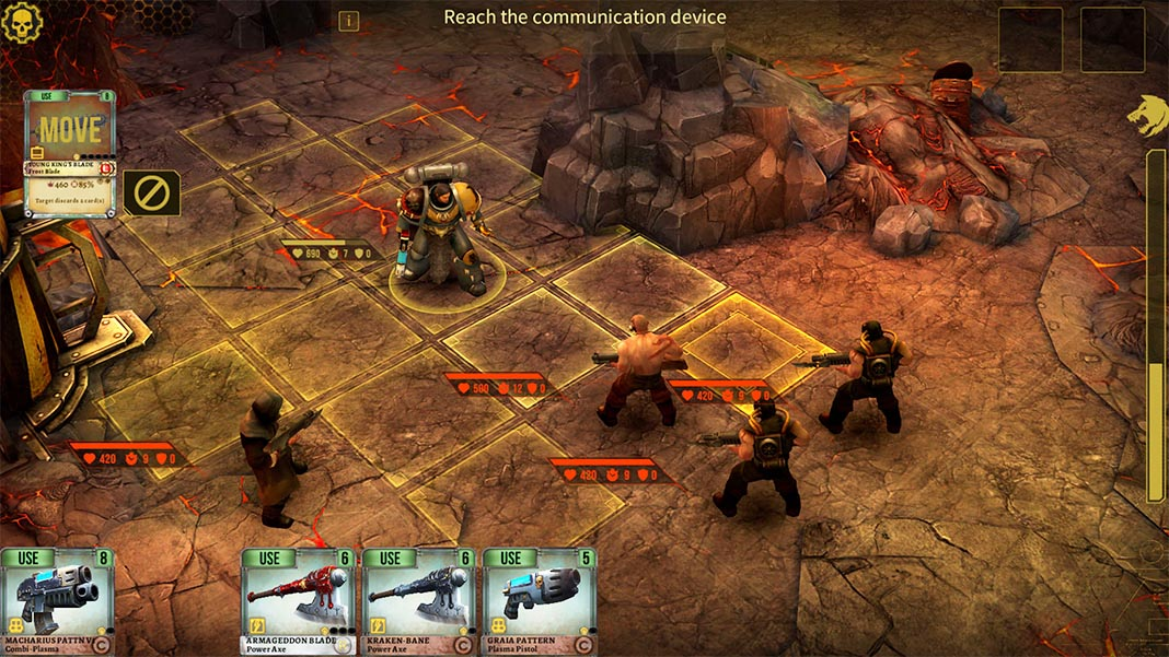 warhammer space wolf All the free Android games set in the Warhammer universe