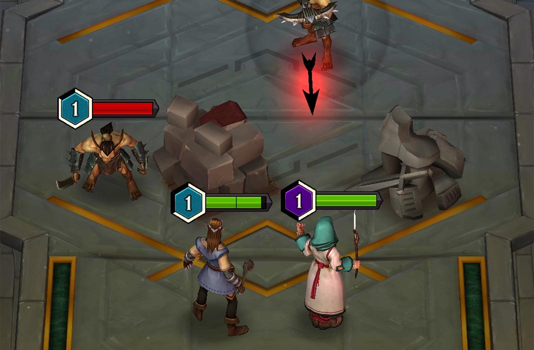 warriors waterdeep screenshot 1 Dungeons & Dragons: Warriors of Waterdeep is now available on Android