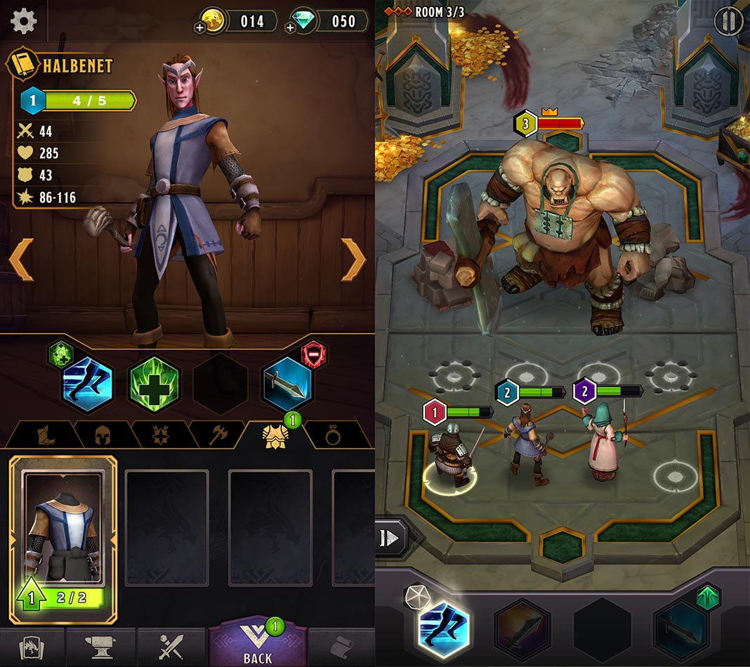 Dungeons & Dragons: Warriors of Waterdeep is now available on Android