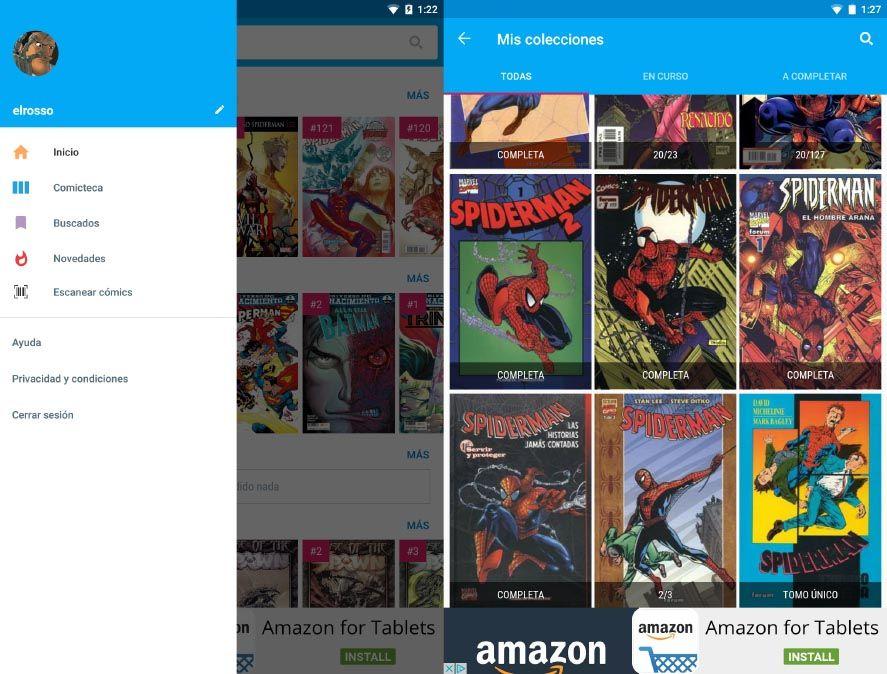 whakoom screenshot 1 Whakoom, la mejor herramienta para organizar tu colección de cómics