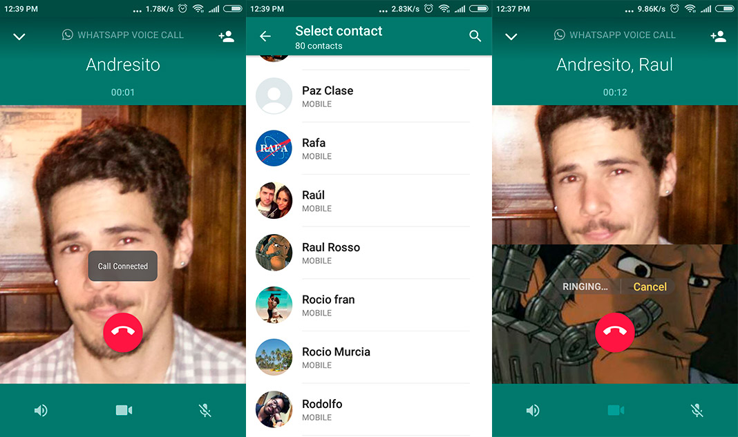 whatsapp audio en Group voice and video calls are now possible on WhatsApp