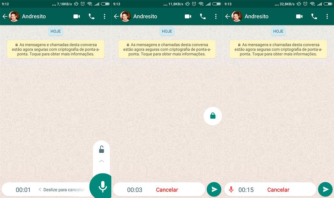 WhatsApp Bloqueo Voz