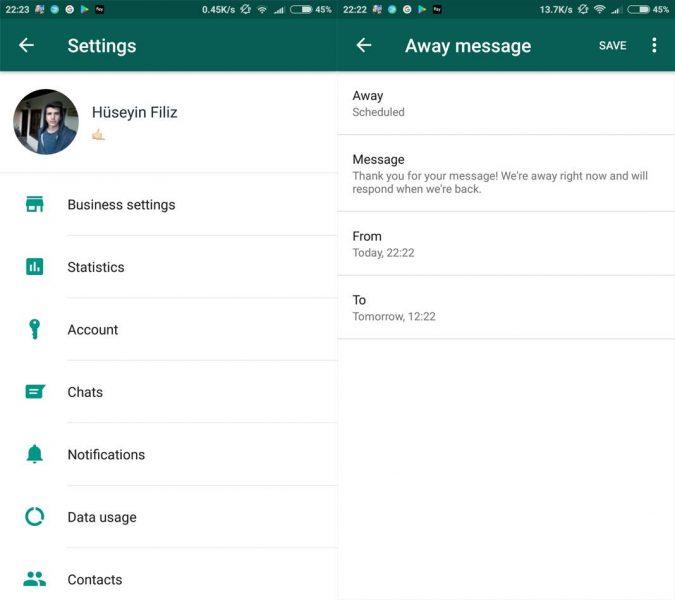 whatsapp business screenshots Siete apps que añaden nuevas funciones a WhatsApp