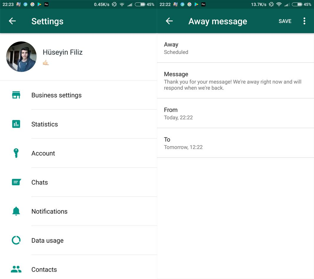 whatsapp business screenshots The WhatsApp Business app is now available – but only by invitation