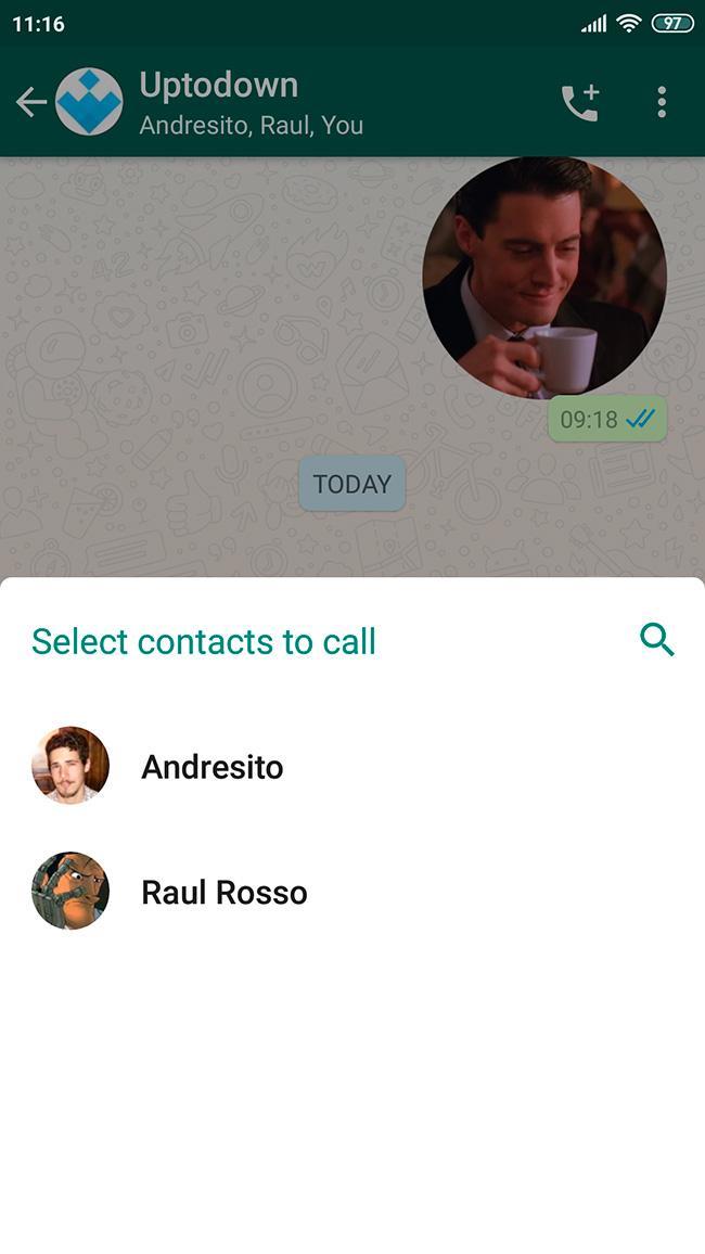 whatsapp call screenshot 2 en Group calls in WhatsApp are now easier than ever