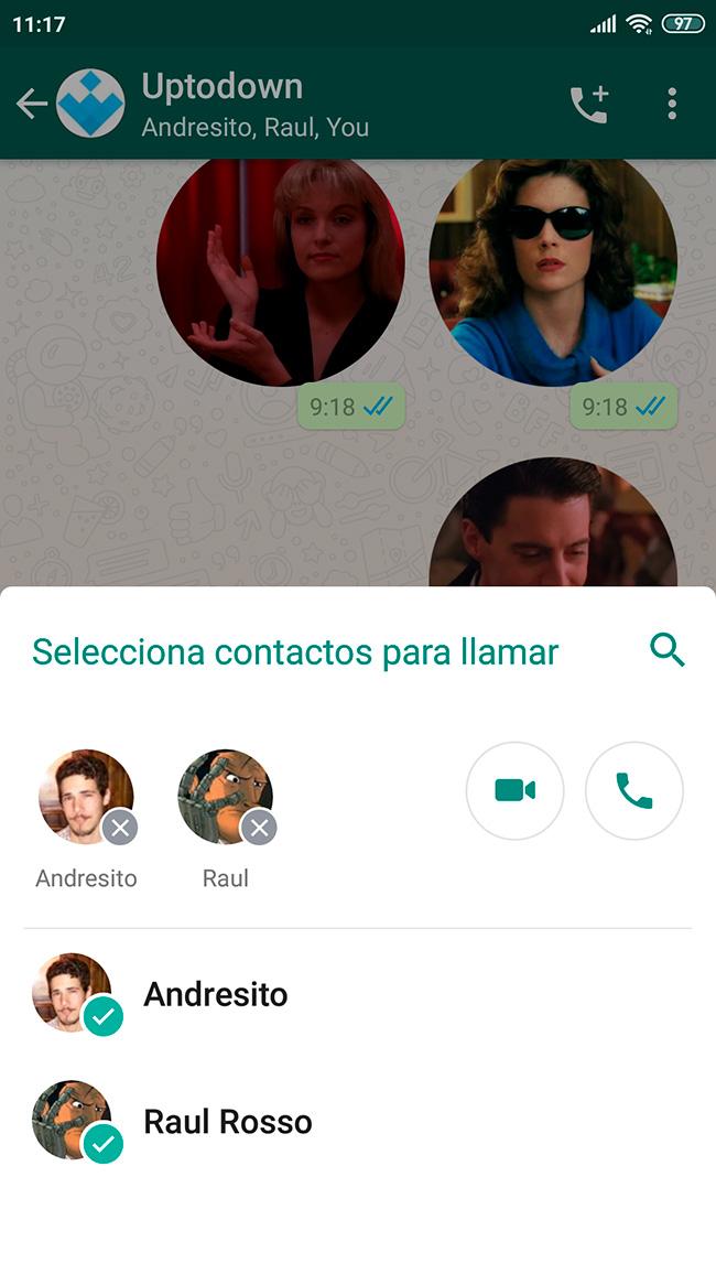 whatsapp call screenshot 3 Las llamadas grupales de WhatsApp ahora son más fáciles que nunca